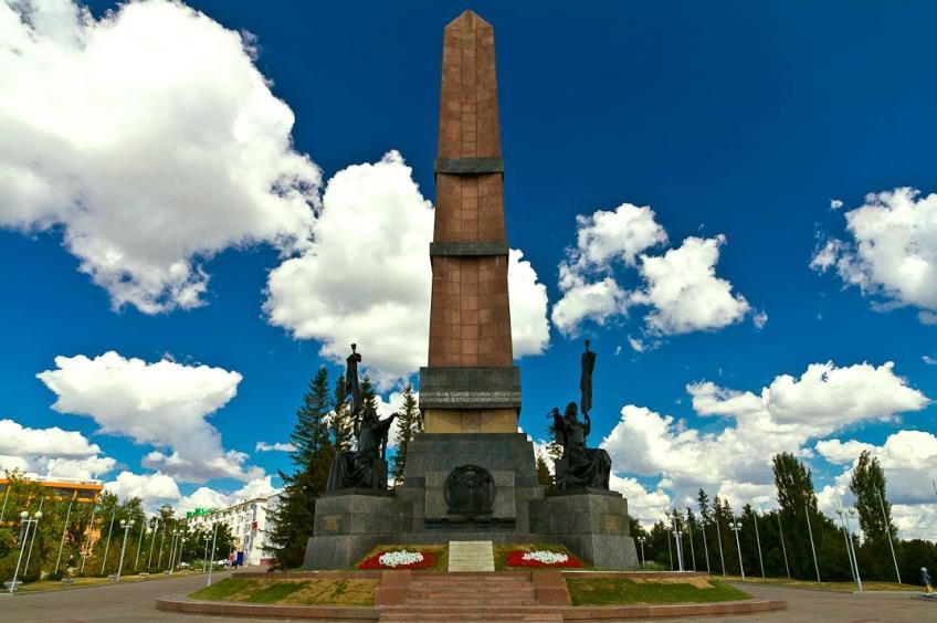 Уфа. Монумент Дружбы народов (1)