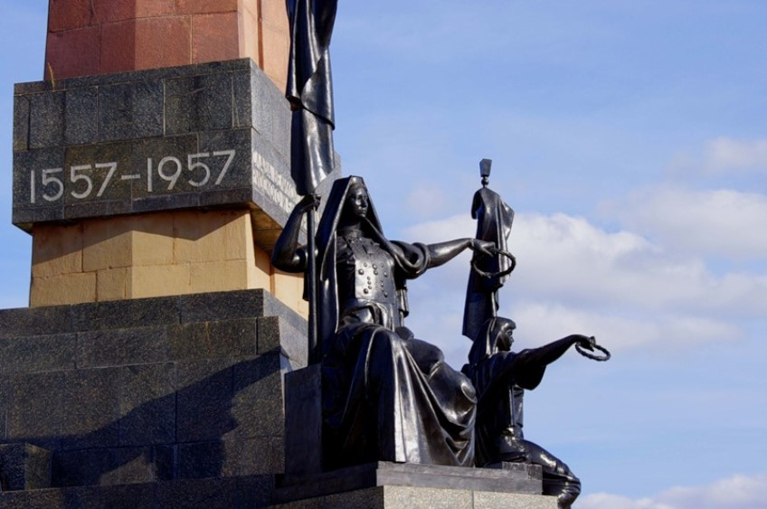Уфа. Монумент Дружбы народов (2)