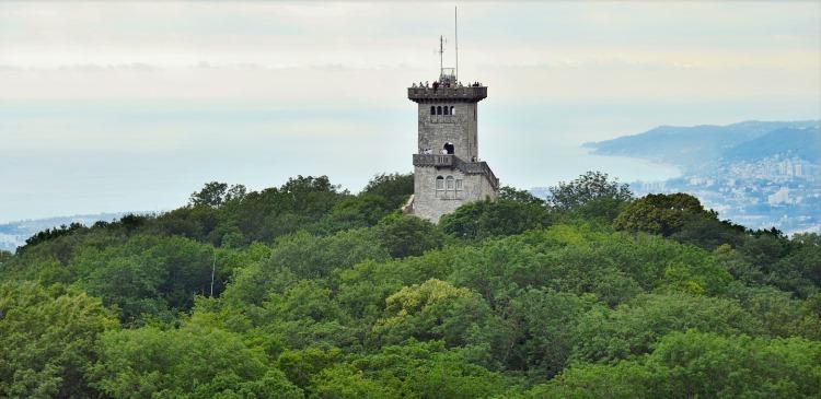 Сочи Гора Ахун. Смотровая башня
