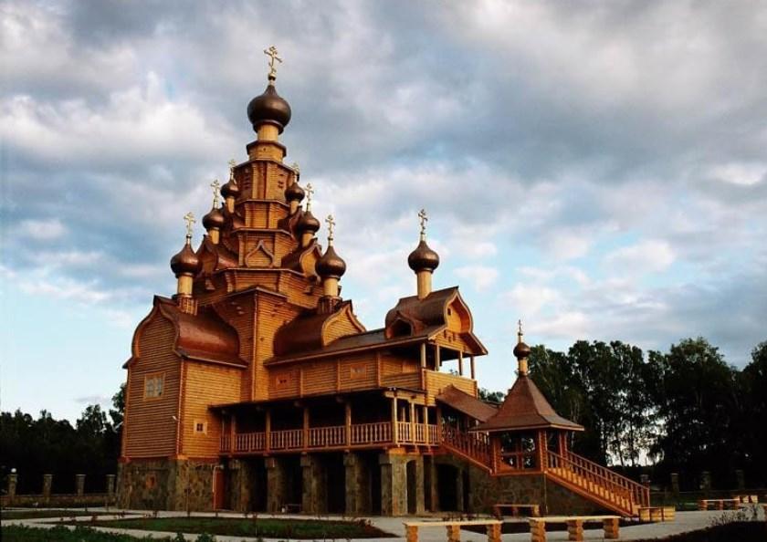 Храм Скоропослушница, с. Верхняя Санарка.