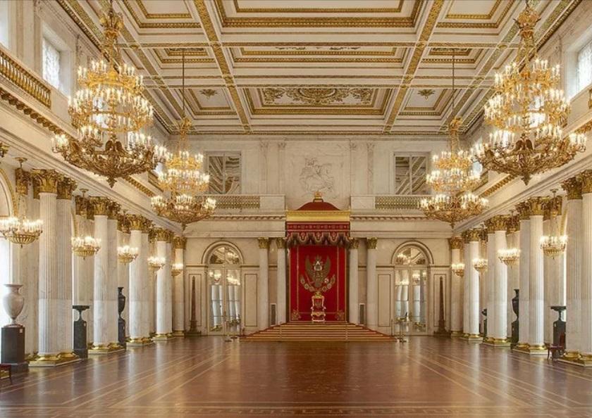 Петербург Эрмитаж. Залы
