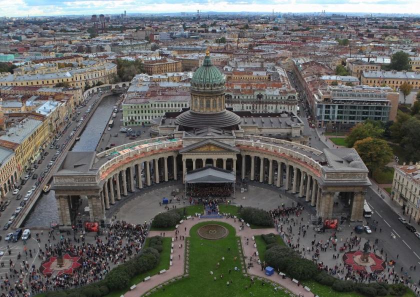 Петербург. Казанский собор