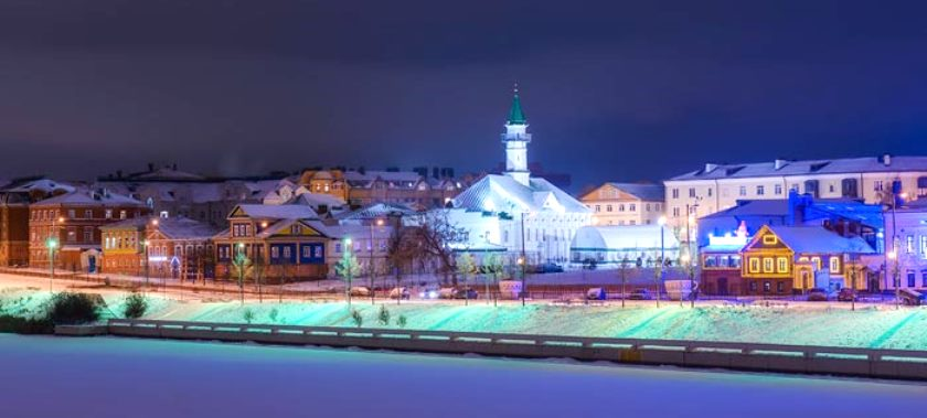 Казанская Старо-Татарская Слобода зимой