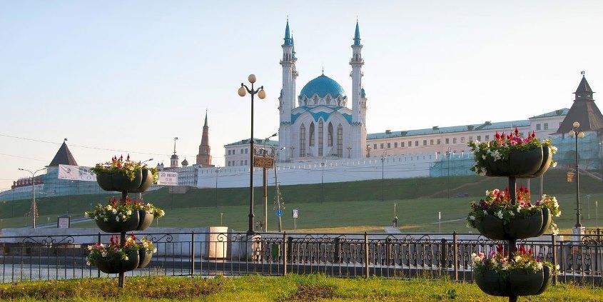 Казань весенняя